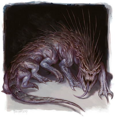 As is the art from the 3E Monster Manual!