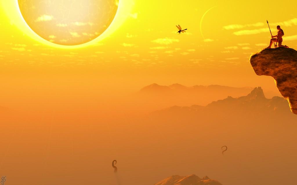 Dark Sun Sea of Silt, by Steven James