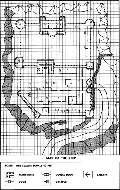 Map of the Keep
